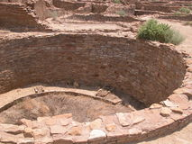 Chaco Canyon, N.M. Royalty Free Stock Photos
