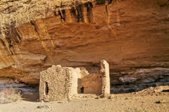 Chaco Canyon remains Stock Photos
