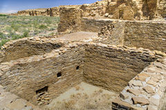 Chaco Canyon Ruins Royalty Free Stock Photography