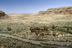 Chaco Canyon Ruins Stock Images