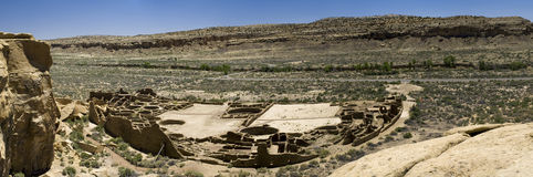 Chaco Canyon Ruins Royalty Free Stock Photos