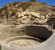 Chaco Canyon Ruins Royalty Free Stock Image