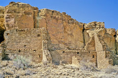 Chaco Canyon ruins 2 Stock Image