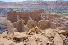 Chaco Culture ruins Royalty Free Stock Photo