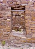 Chaco Culture ruins Stock Images