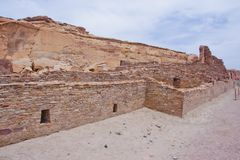 Chaco Culture ruins Royalty Free Stock Image