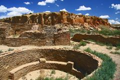 Chaco kanjon royaltyfri fotografi