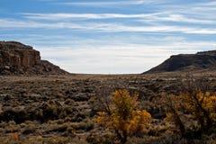 Chaco kanjon fotografering för bildbyråer