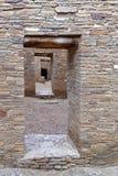 Chaco kanjondörröppningar Arkivfoton