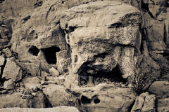 Chaco-Kultur Cliff Dwellings Stockbild