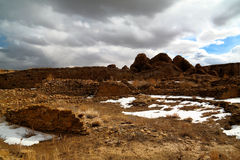chaco kultury ruiny Zdjęcie Royalty Free