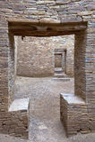 Chaco Schlucht-Türen Stockbild