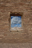 Chaco window Royalty Free Stock Photo