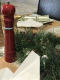 CHACUN A BESOIN de condiments au temps de Noël Image libre de droits