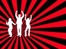Chacun dansent ! Image libre de droits
