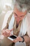 Chacun a un téléphone portable aujourd'hui Photographie stock