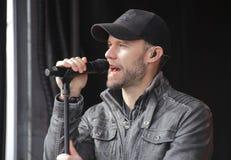 Chad Brownlee en Zijn Band stock fotografie