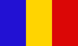 Chad Flag Royalty Free Stock Image