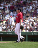 Chad Fox. Boston Red Sox pitcher Chad Fox. Image taken from color slide stock photography