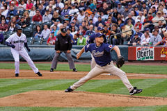 Chad Gaudin Padres Pitcher Royalty Free Stock Photo