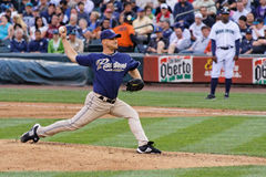 Chad Gaudin Padres Pitcher Stock Images