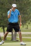chad golfowa Macmillan uderzenia zakańczającego wygrana Zdjęcia Stock