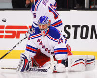 Chad Johnson, New York Rangers Royalty Free Stock Image