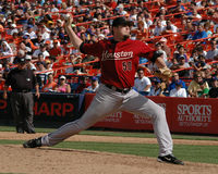 Chad Qualls, Houston Astros Royalty-vrije Stock Foto