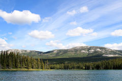 Chadburn Lake, Whitehorse, Yukon, Canada Stock Photos