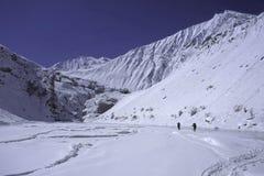 chaddar hikers Стоковая Фотография