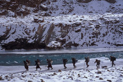 Chaddar Wanderer Lizenzfreie Stockbilder