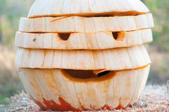 CHADDS福特, PA - 10月26日:伟大的南瓜雕刻2013年10月26日的Carve比赛 免版税图库摄影