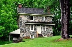 Chadds Ford, PA: Het Huis van John Chads ' Stock Foto