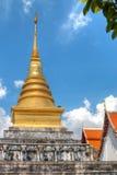 Chadi Phra ce Chang Kam en Wat Phra That Chang Kam Worawihan de Nan Images libres de droits