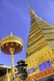 Chadi Phra ce Cho Hae dans le vieux temple de Wat Phra That Cho Hae Image libre de droits