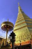 Chadi Phra quel Cho Hae in vecchio tempio di Wat Phra That Cho Hae di N Fotografie Stock Libere da Diritti