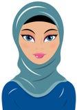 Chador муслина женщины Стоковое Фото