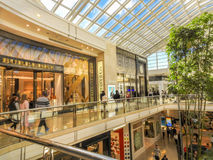 Chadstone shopping center. Inside of Chadstone shopping center stock image