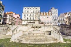 Chafariz das Janelas Verdes在里斯本,葡萄牙 库存照片