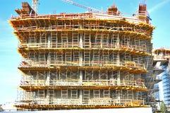 Échafaudage de construction Photo libre de droits