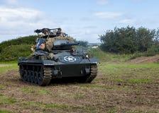 Chaffee Tank e squadra leggeri americani immagine stock