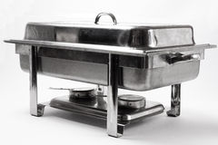 Chafing dish Stock Photo