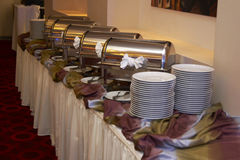 Chafing dish Stock Image