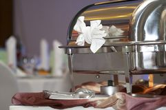 Chafing dish Royalty Free Stock Photography