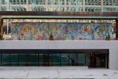 Chagall Чикаго стоковое изображение rf