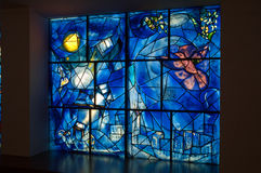 Chagall  America window Royalty Free Stock Photography