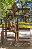 Chagas Joao άγαλμα κήπων Στοκ Εικόνες