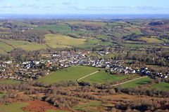 Chagford, Devon Royalty Free Stock Photography