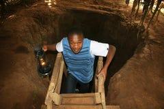 Chagga cave Royalty Free Stock Image