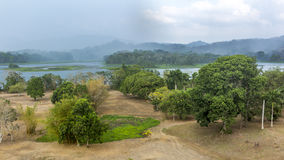 Chagres River in Panama Royalty Free Stock Photo